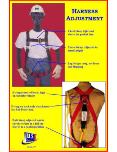 how to put on an harness