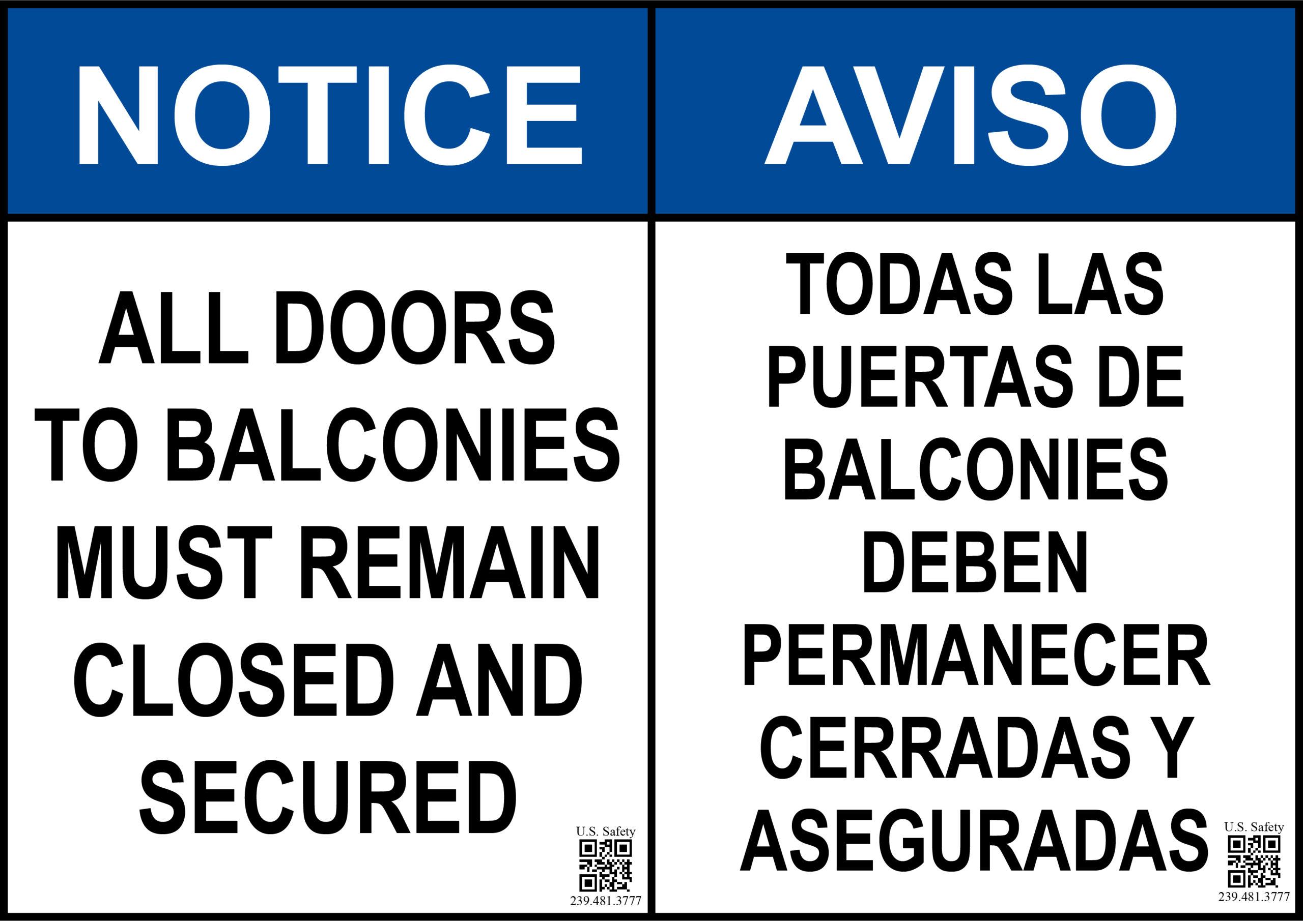 BALCONIES DOORS