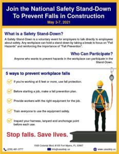 Safety Stand Down 2021