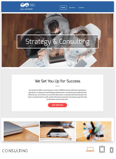 Consultant Website Theme