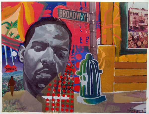 Dionis Ortiz Dominican American Artist From Harlem