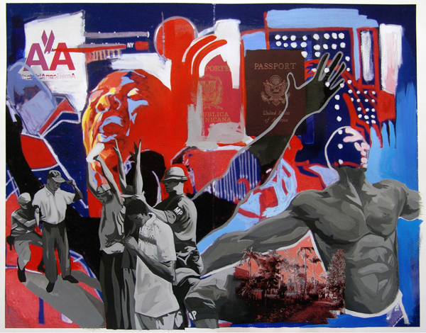 Dionis Ortiz Dominican-American Artist From Harlem