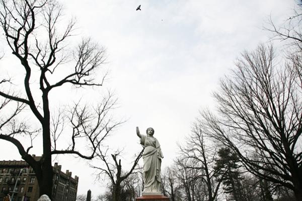 Trinity Cemetery Washington Heights