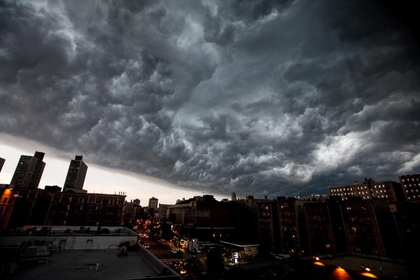 Storm over Washington Heights