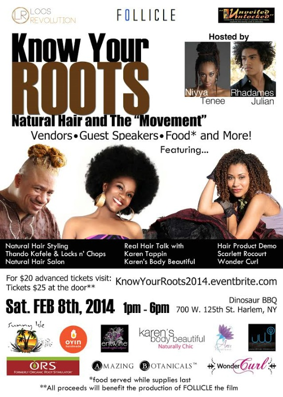 Know Your Roots - Natural Hair and the Movement