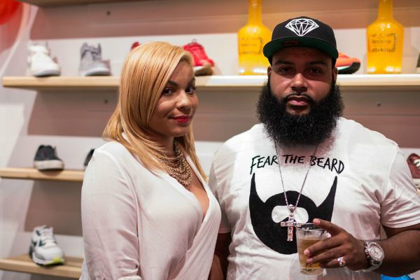Probus Grand Opening - Girl and Beard Guy