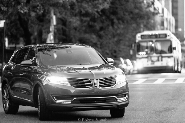 2016 Lincoln MKX - Bus - Black And White