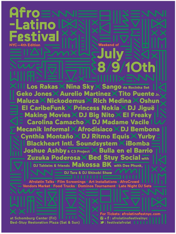 Afro-Latino Festival - Details