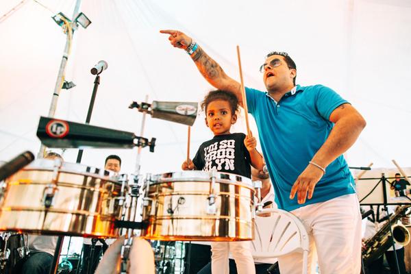 Afro Latino Festival - Tito Puente Jr