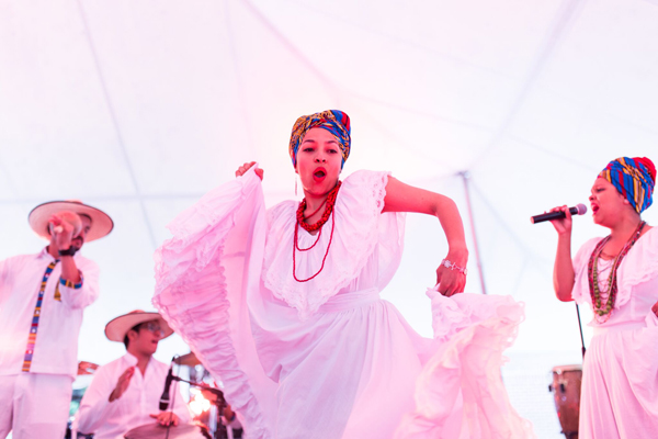 Afro-Latino Festival - Women In White