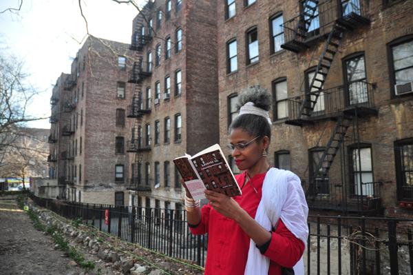 Josefina Baez Washington Heights Reading Building