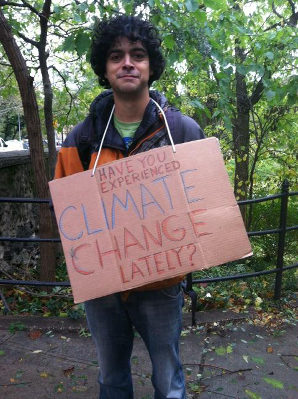 Hurricane Sandy - Climate Change