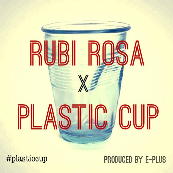 Rubi Rosa - Plastic Cup