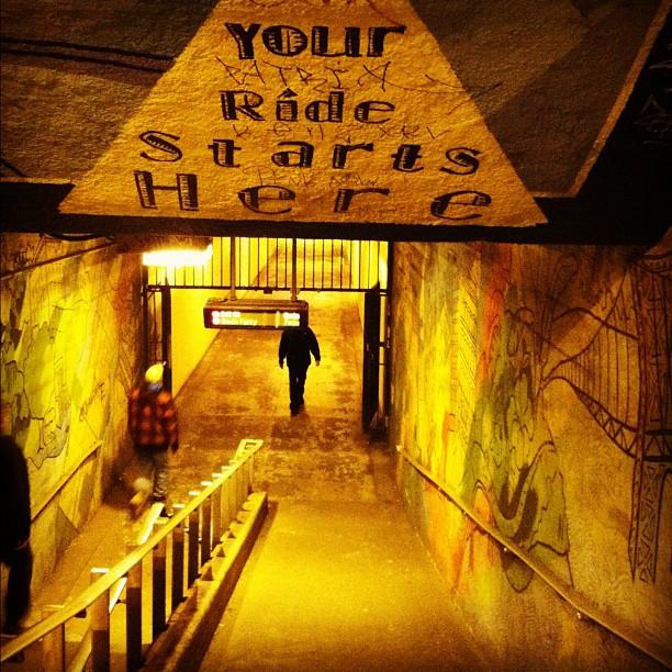 Tunnel 191st Street - Washington Heights