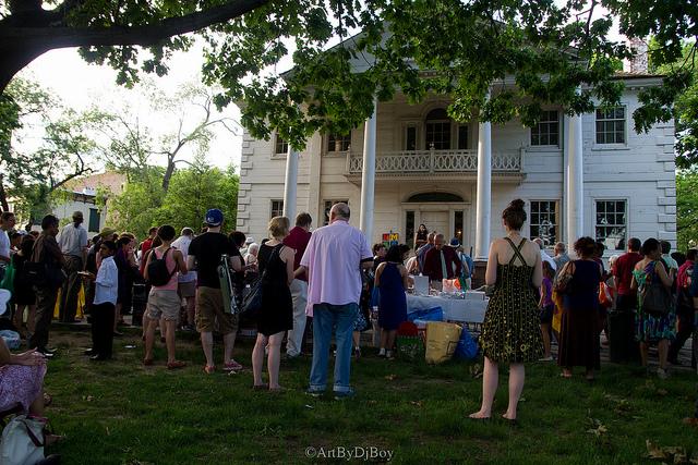 Morris Jumel Mansion - 2013 Uptown Arts Stroll