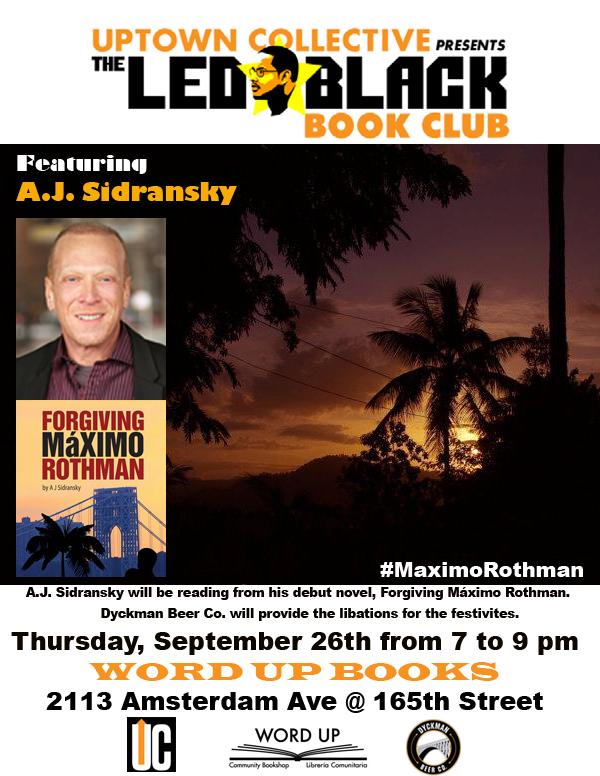 The Led Black Book Club - Forgiving Maximo Rothman - AJ Sidransky