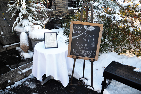 New Leaf Cafe - Fort Tryon - Washington Heights