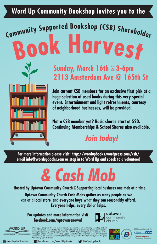Word Up Books Book Harvest
