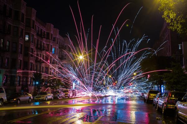 Dyckman Fireworks - Emmanuel Abreu
