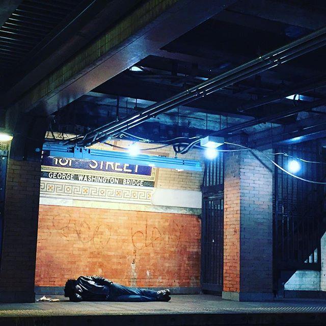 Homeless Man 181 St Street - Washington Heights