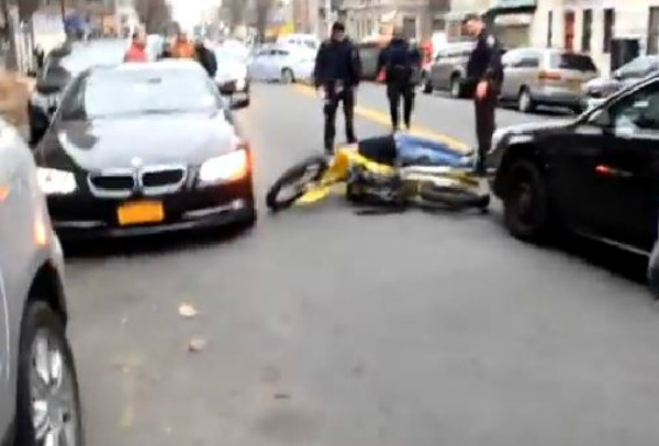 Cops Hit Youth In Washington Heights
