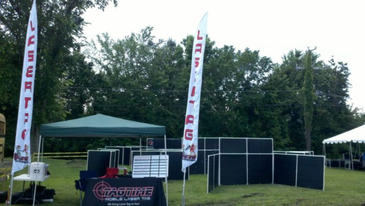 Are you looking to add excitement to your next festival event? Tagtime can set a laser tag battlefield in any area.