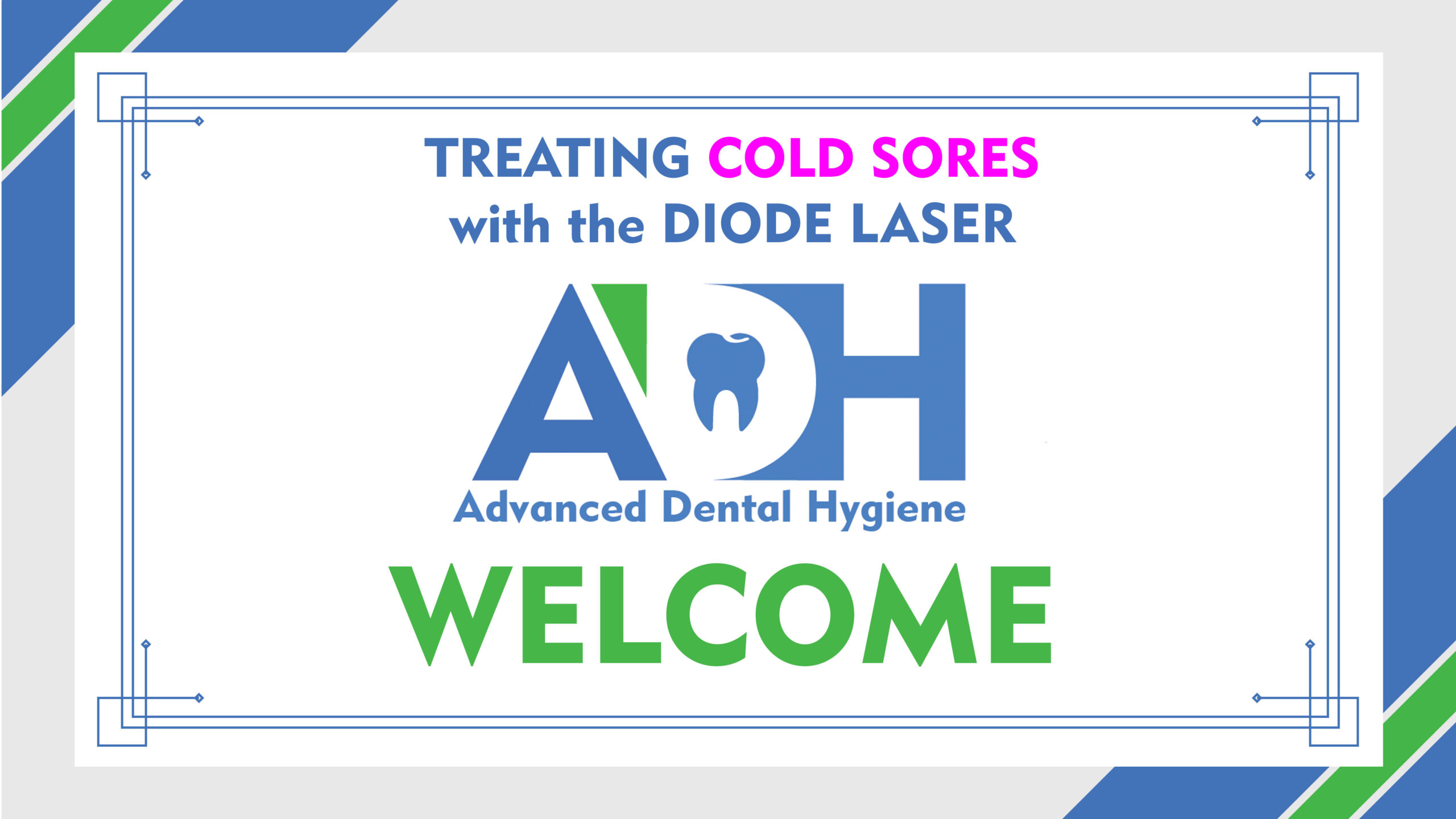 Treating a Cold Sore with Diode Laser Therapy – FREE