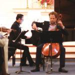 Tobias Werner playing cello