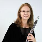 Cheryl Hill with clarinet