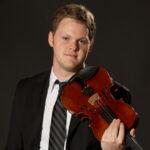 Violinist Gregory Luce