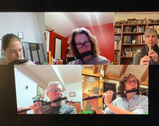 online irish flute class