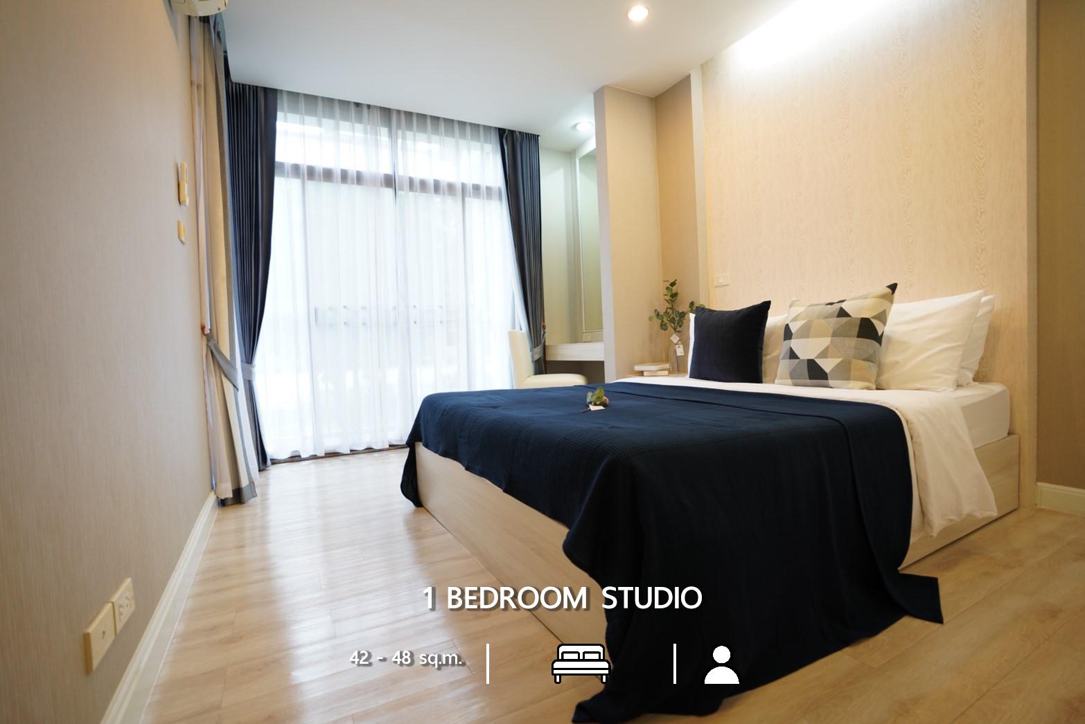 1 Bedroom Studio Sunshine Sriracha Hotel & Service Apartment