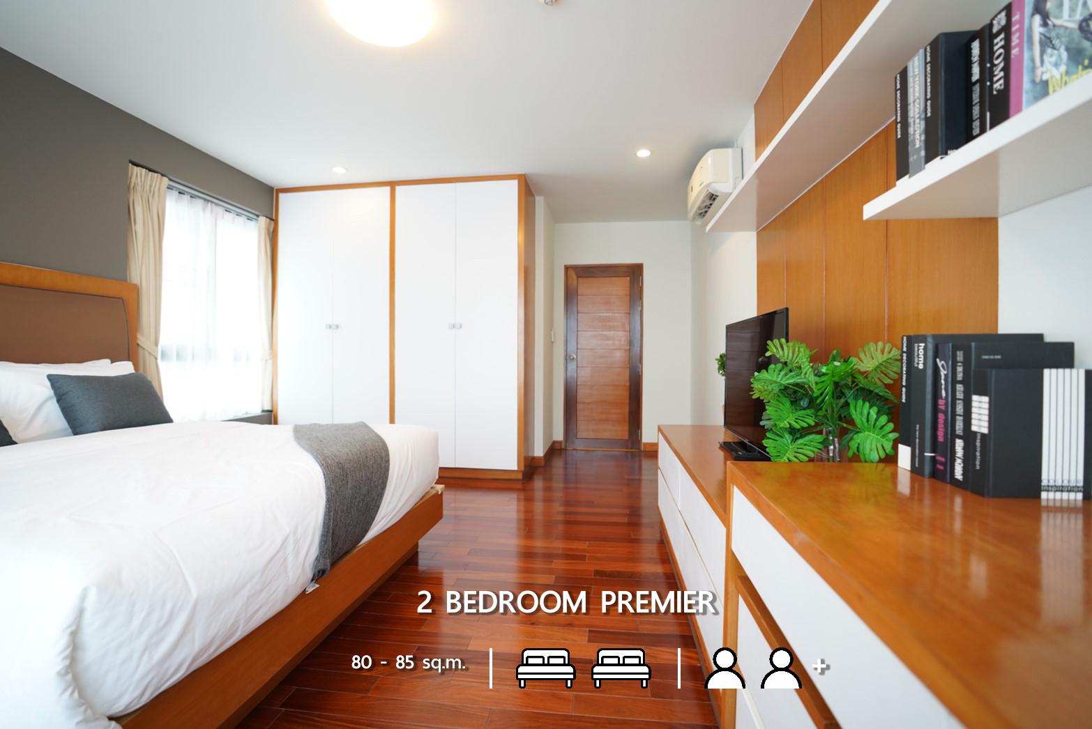 2 Bedroom Premier Sunshine Sriracha Hotel & Service Apartment