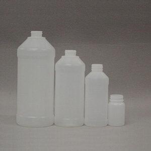 HDPE Modern Round Bottles