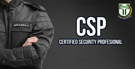 TEMPLATE TRAININSCertified Security Professional (CSP)