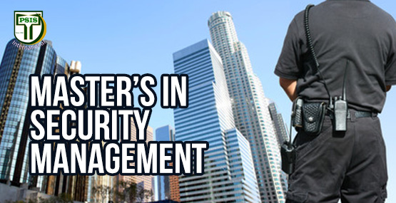 TEMPLATE TRAININSMaster's in Security Management