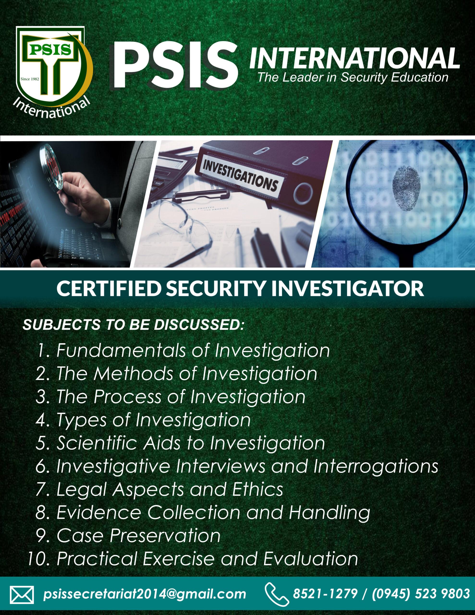 CSI - 2