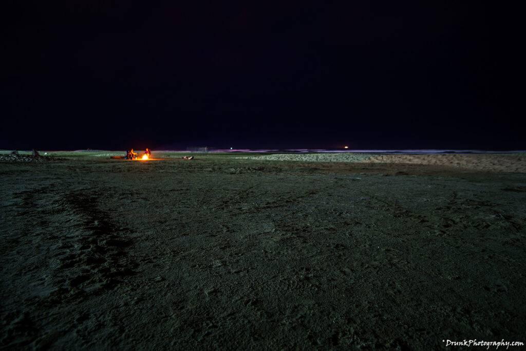 Bonfire at Newport