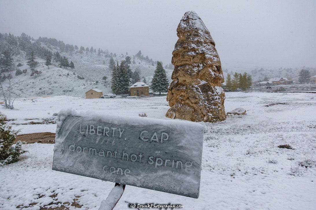 Liberty Cap Mammoth Springs Yellowstone Drunkphotography.com Otis DuPont