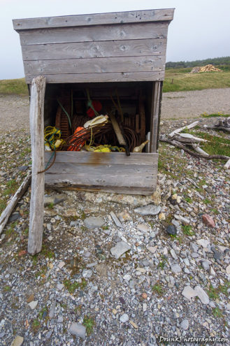 Broom Point Mudge Cabin Fish Store Newfoundland and Labrador Drunkphotography.com Otis DuPont