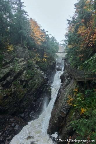 High Falls Gorge: Rainbow Falls