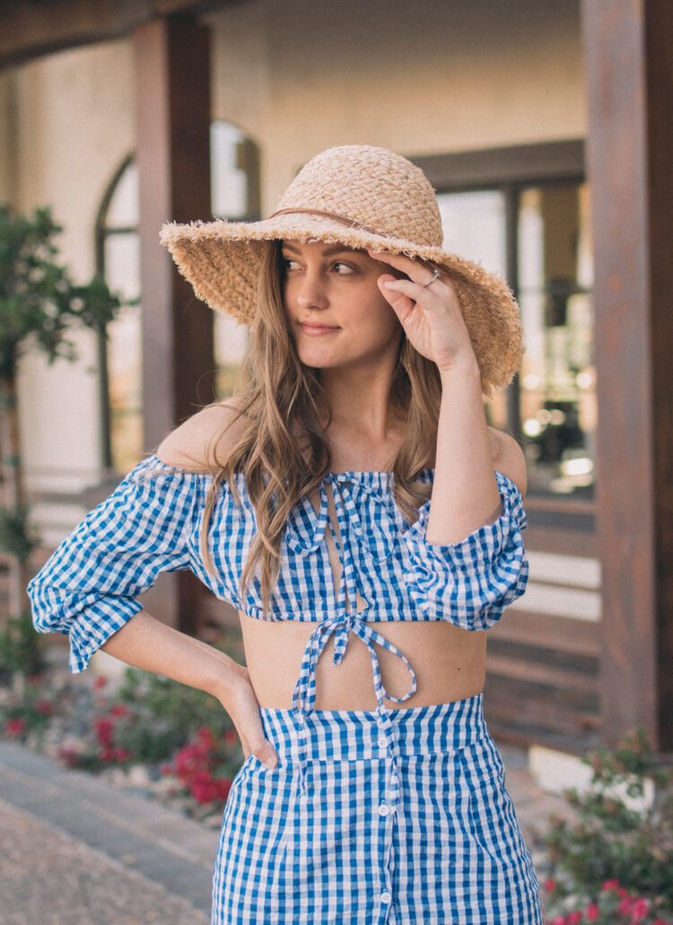 Going Gingham - www.haleighhall.com