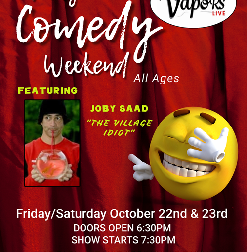 Comedian Joby Saad and Guest – Oct 23
