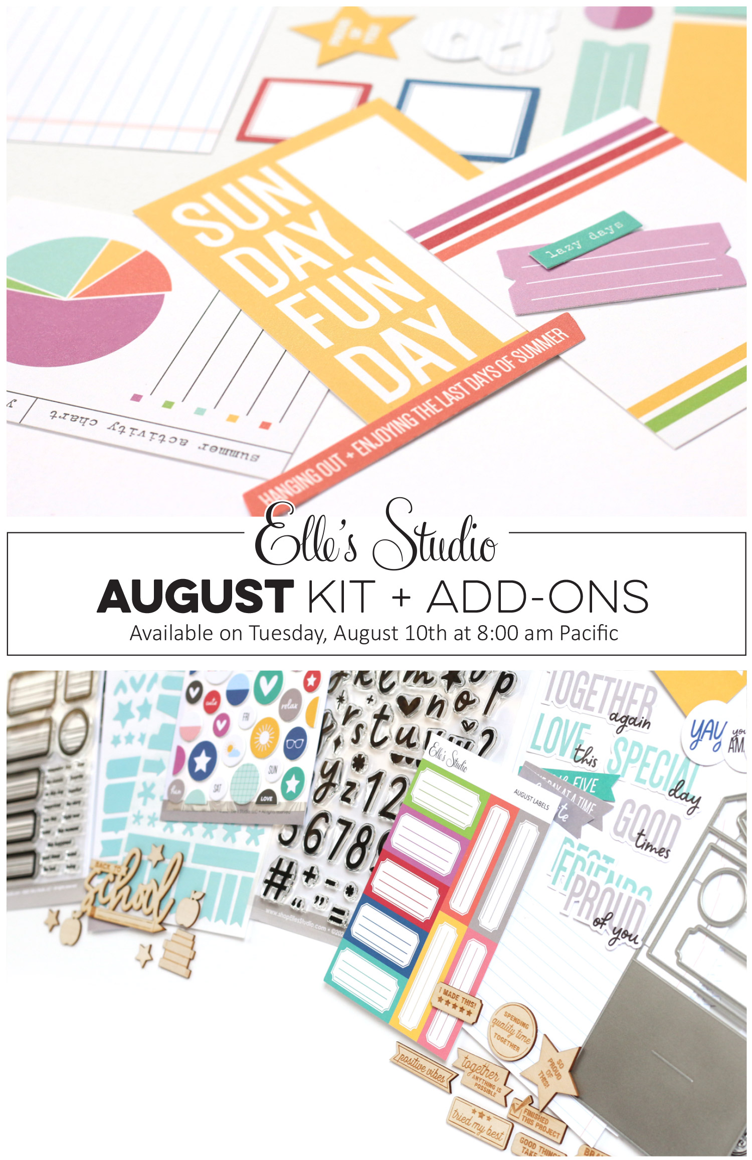 A sneak peek of our August 10th reveal!