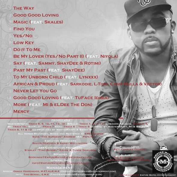 Banky W RBW Album Back Cover