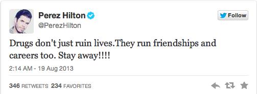 Lady Gaga v Perez Hilton Twitter Fight 5