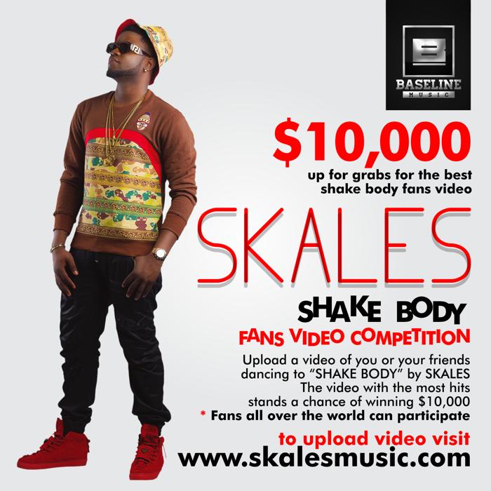 SKALES SHAKE BODY PROMO