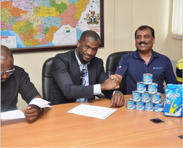 Peter Okoye Olympic Milk