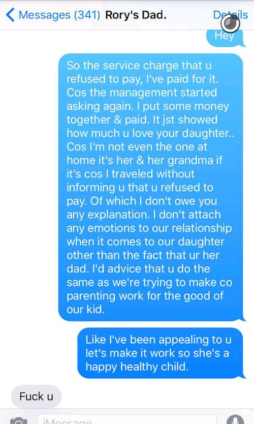 Davido v Sophie Snapchat Fight 1