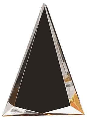 Pinnacle Black Gold Acrylic PNL11BK